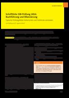 Schriftliche StB-Prüfung 2016: Buchführung und Bilanzierung