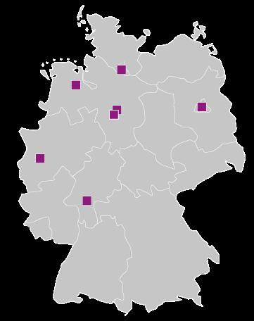 Seminare an 7 Standorten in Deutschland, als Fernlehrgang oder Online