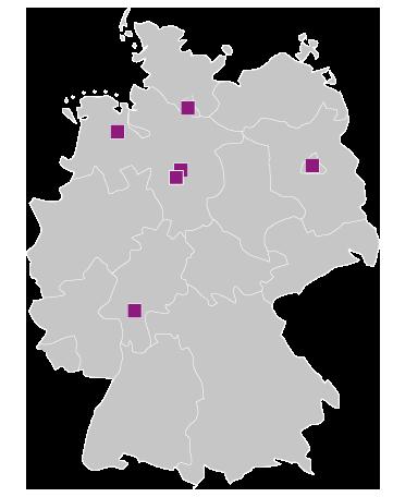 Seminare an 6 Standorten in Deutschland, als Fernlehrgang oder Online