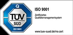 TÜV SÜD – ISO 9001